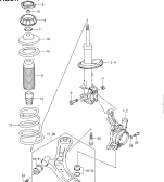 217 - FRONT SUSPENSION (TYPE 1,2)