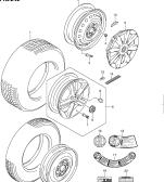 242 - ROAD WHEEL/TIRE (TYPE 1,2,3:W/16 INCH TIRE)