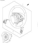 252 - STEERING WHEEL (TYPE 1,2,3:W/AUDIO & CRUISE SWITCH)
