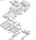 290 - FLOOR PANEL (TYPE 1,3:4DR)