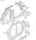 295 - SIDE BODY PANEL (TYPE 1,2,3:5DR)