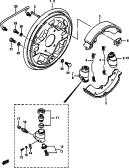 95 - FRONT WHEEL BRAKE (DRUM TYPE)