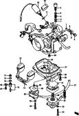 10A - CARBURETOR (V:DA21V~122699~)
