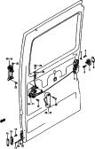 110 - REAR DOOR LOCK (V)