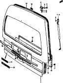 112 - BACK DOOR PANEL (V)