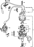 38A - DISTRIBUTOR (DA21V-122699~)