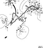 91 - BRAKE PIPING (LHD:N/ABS:E21,E22,E54)