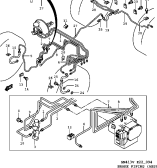 94 - BRAKE PIPING (RHD:W/ABS)