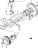 10 - CRANKSHAFT (98, 99, 00, 01 MODEL)