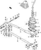 62 - GEAR SHIFT CONTROLS (MT)