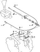 64 - GEAR SHIFT CONTROLS (AT:97, 98, 99, 00, 01 MODEL)