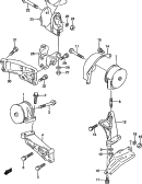 7 - ENGINE MOUNTING (MT)