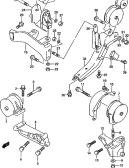 8 - ENGINE MOUNTING (AT)