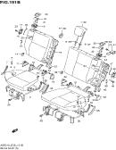 191B - REAR SEAT (TYPE 3:GL,GLS,GLS:66KW,GLSECO)