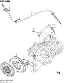 64B - MT CLUTCH (TYPE 3,4:MT:A5B310:RHD)