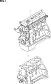 1 - ENGINE ASSY (QR25DE)
