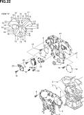 22 - ENGINE FRONT COVER (VQ40DE)