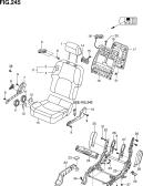 245 - FRONT RH SEAT (N/SIDE AIR BAG)