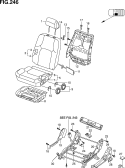 246 - FRONT LH SEAT (N/SIDE AIR BAG)