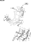 247 - FRONT RH SEAT (W/SIDE AIR BAG)