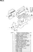 3 - ENGINE GASKET SET (QR25DE)