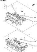 135 - HEATER CONTROL (RHD)