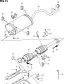 15 - MUFFLER (GC416V:E10,E14,E24)