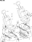 163 - FRONT SEAT (LHD:BV,GA,PANEL VAN)