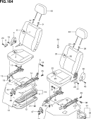 164 - FRONT SEAT (RHD:BV,GA)