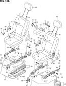 166 - FRONT SEAT (RHD:GX,SGX)
