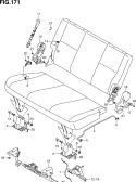 171 - 3RD SEAT (BENCH TYPE)