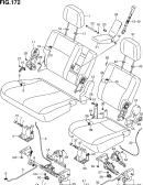 172 - 3RD SEAT (SEPARATE TYPE)