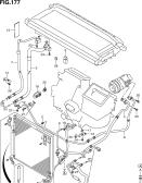 177 - AIR CON PIPING (LHD:W/DUAL AIR CON)