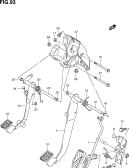 93 - PEDAL/PEDAL BRACKET (LHD:MT)