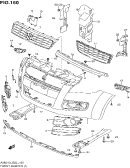 160 - FRONT BUMPER (TYPE 1,2,3)