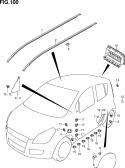 100 - ROOF MOLDING/GARNISH