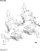 188 - FRONT SEAT (LHD:N/SIDE AIR BAG)