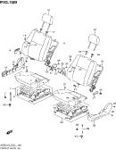 189 - FRONT SEAT (RHD:N/SIDE AIR BAG)