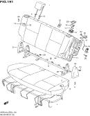 191 - REAR SEAT (TYPE 2,3,4:GA:N/SIDE AIR BAG)