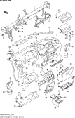 108 - INSTRUMENT PANEL (LHD)