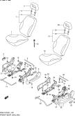 140 - FRONT SEAT (GA:LHD)