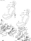 143 - FRONT SEAT (TYPE 1:GL,GLS:RHD)
