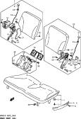 144 - REAR SEAT (GA)