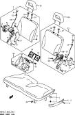 145 - REAR SEAT (TYPE 1:GL,GLS)