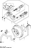 88 - BRAKE MASTER CYLINDER (LHD)