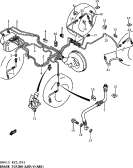 91 - BRAKE PIPING (LHD:W/ABS)