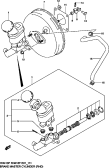 111 - BRAKE MASTER CYLINDER (RHD)