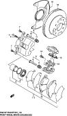 119 - FRONT WHEEL BRAKE (E02,E06,E22,E24,E54)