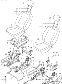 157 - FRONT SEAT (LHD)
