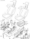 158 - FRONT SEAT (RHD)